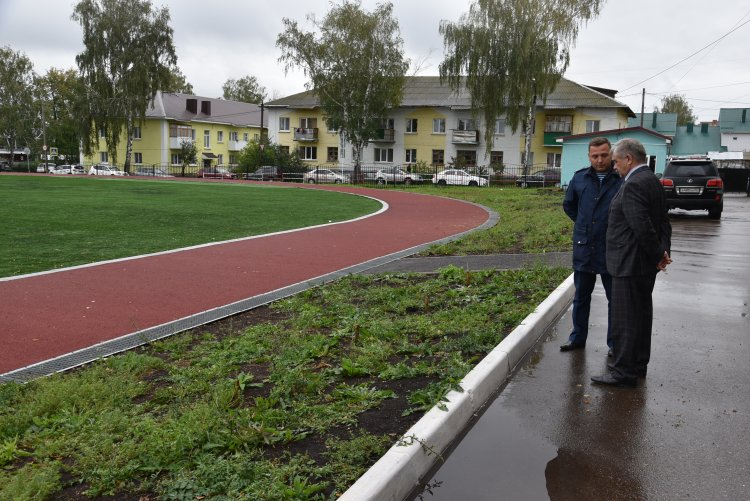 Михаил Закомалдин проинспектировал готовность Башкирского кадетского корпуса к новому учебному году