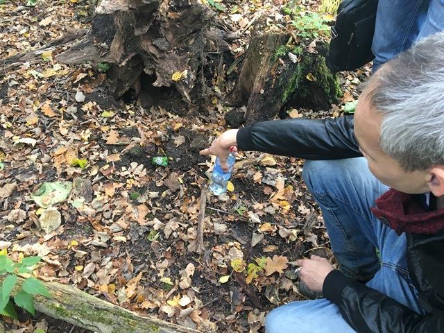 В Уфе задержан мужчина, играющий в квест по розыску в лесу наркотиков