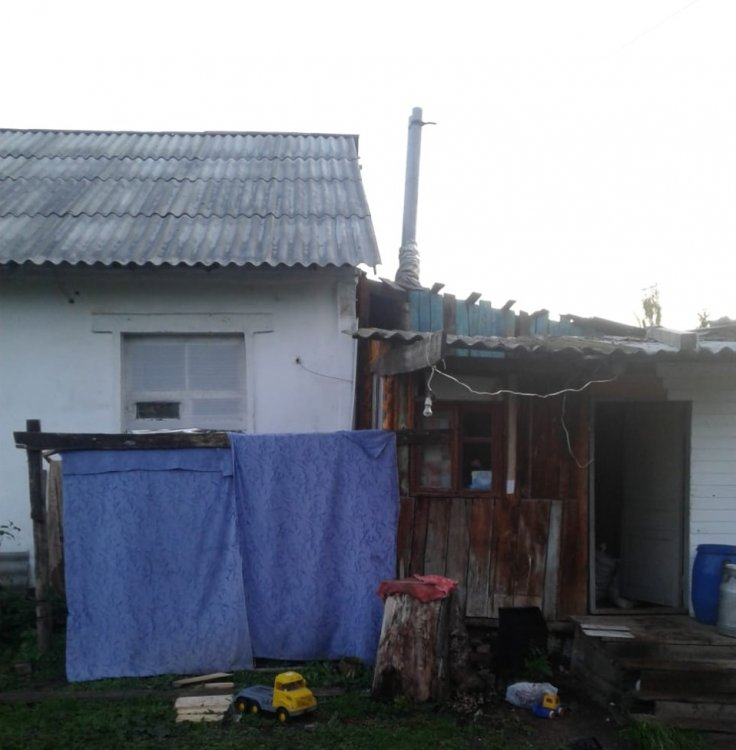 В Башкирии из горевшего дома спасли трёх малолетних детей