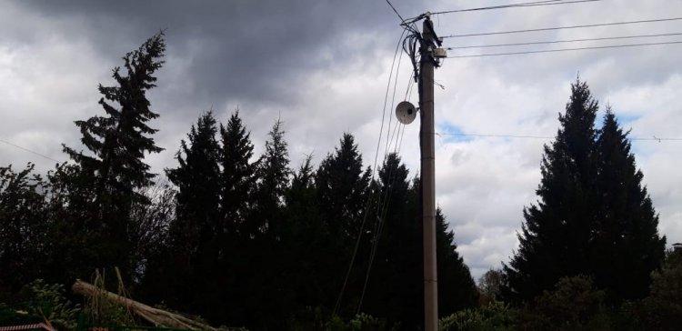 Более 36 тысяч человек в Башкирии остались без электричества из-за непогоды