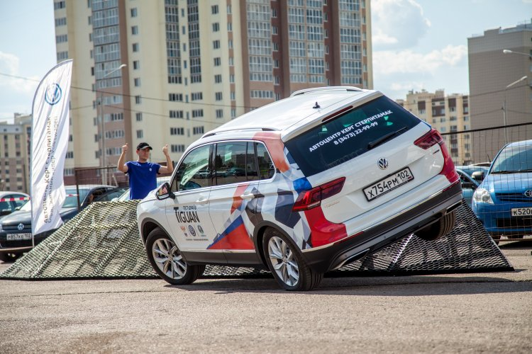 Большой OFF-ROAD Volkswagen в Стерлитамаке