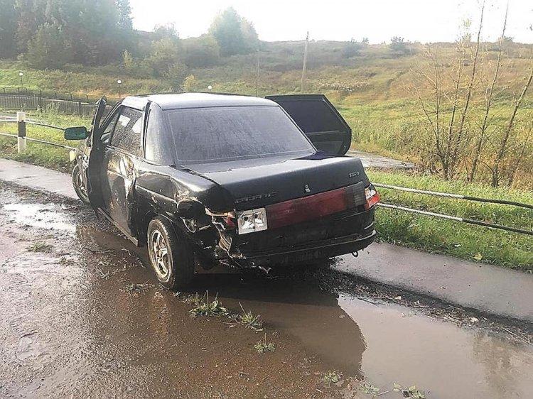 В Башкирии «Лада Гранта» протаранила «десятку», есть пострадавшие