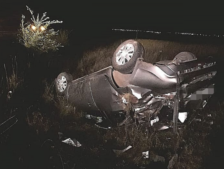 В Башкирии «Лада Гранта» опрокинулась в кювет:  водитель погиб