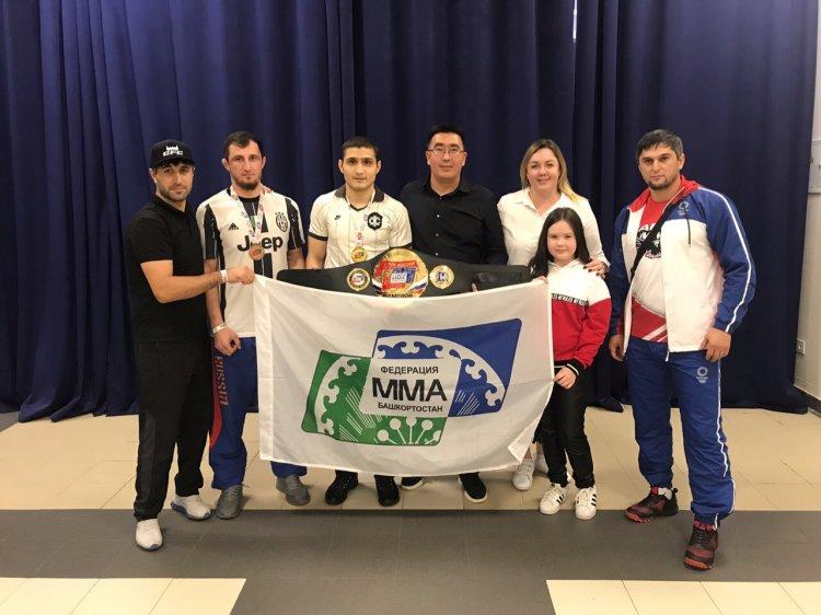 Башкирские спортсмены вернулись из Самары с поясом победителя Кубка России