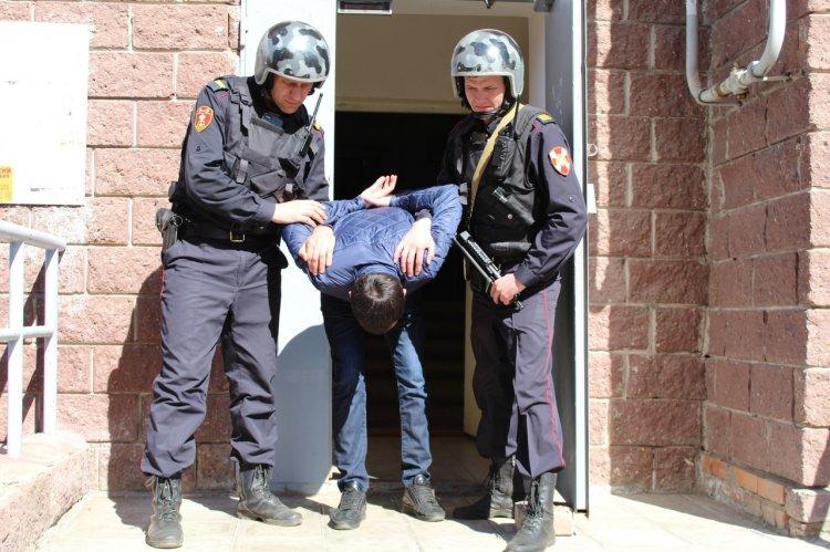В уфимской Черниковке задержан очередной гопник