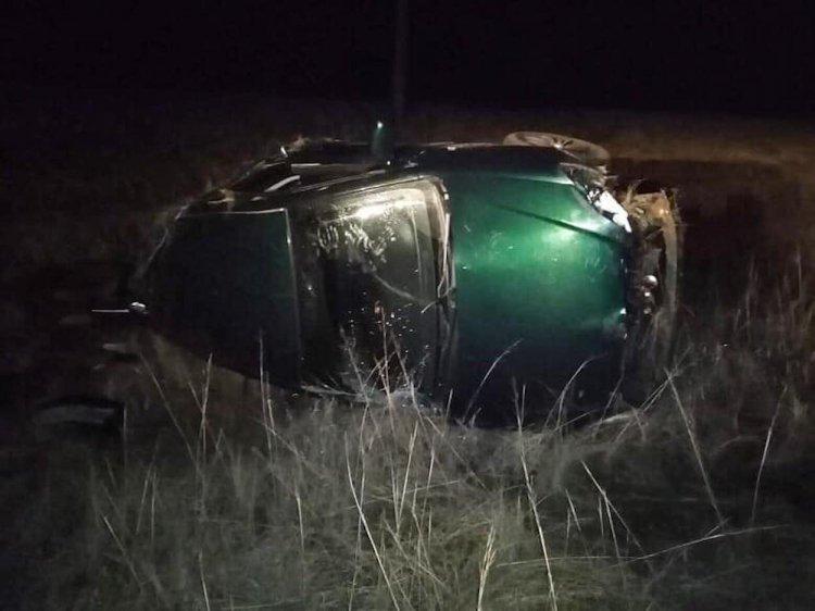 В Башкирии опрокинулась Toyota Corolla: пострадали две девушки
