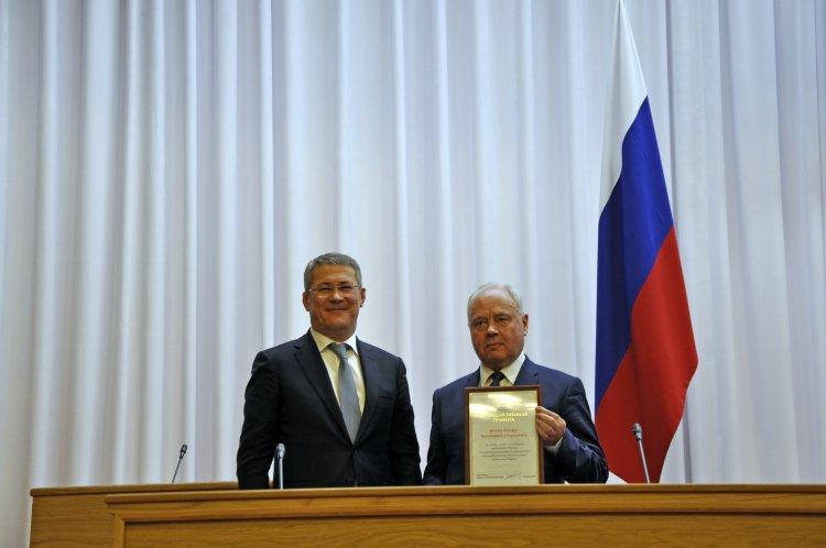 Региональное отделение «Единой России» в Башкортостане возглавил Радий Хабиров