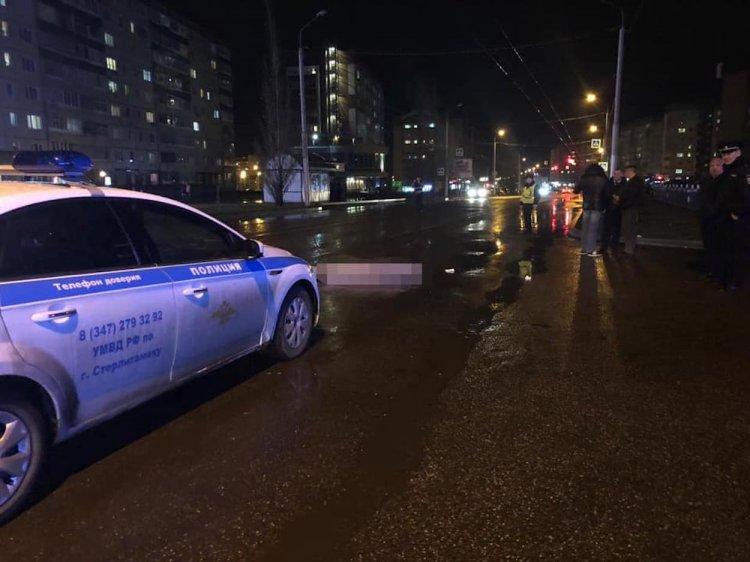 В Стерлитамаке пьяный водитель насмерть сбил пешехода и скрылся