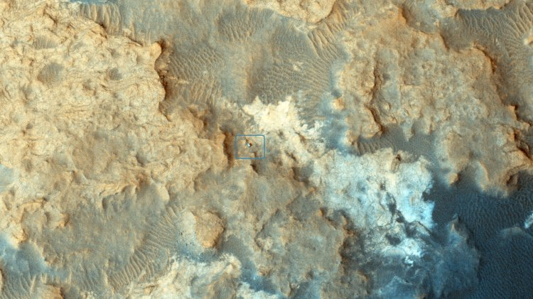 Разрушенные постройки на Марсе: что обнаружили исследователи на снимках NASA