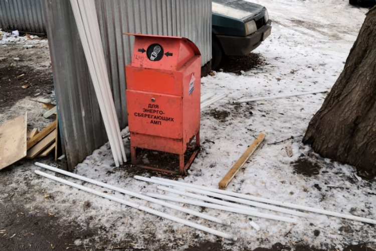 Эксперты ОНФ в Башкортостане выявили в Уфе разгерметизированные контейнеры для опасных отходов