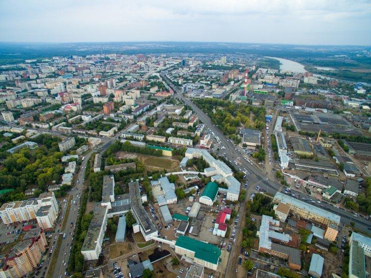 В Уфе ведется строительство нового моста через реку Белую