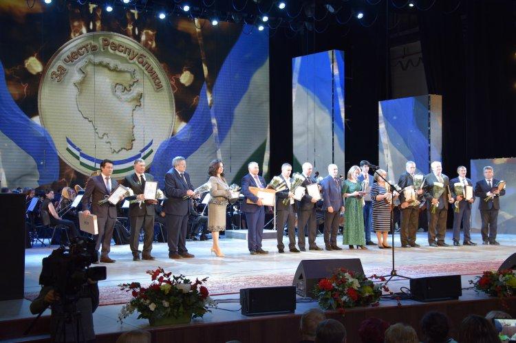 В Башкирии наградили победителей фестиваля-конкурса «За честь Республики!»