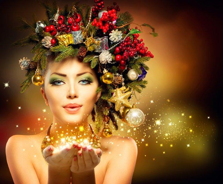 ТОП-5 ярких трендов новогоднего макияжа 2020