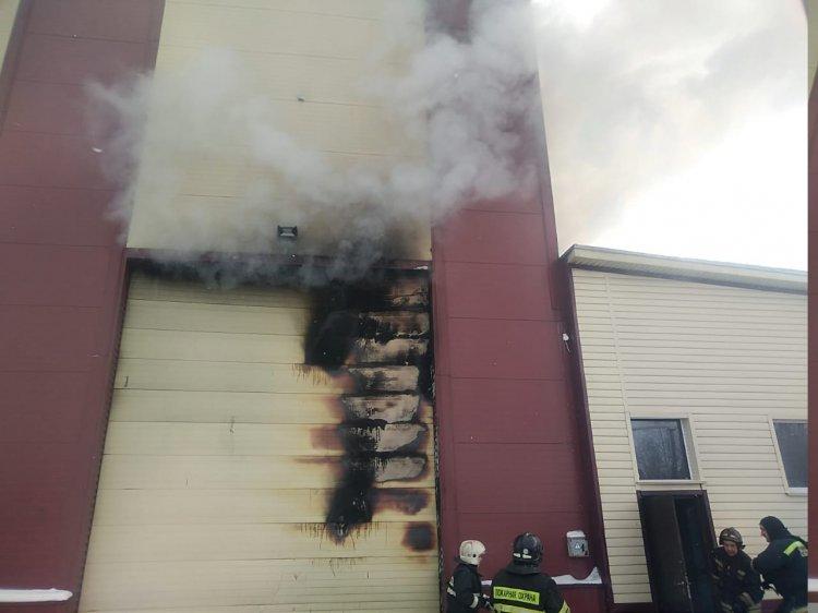 Два человека пострадали при пожаре на тепловозе в Уфе