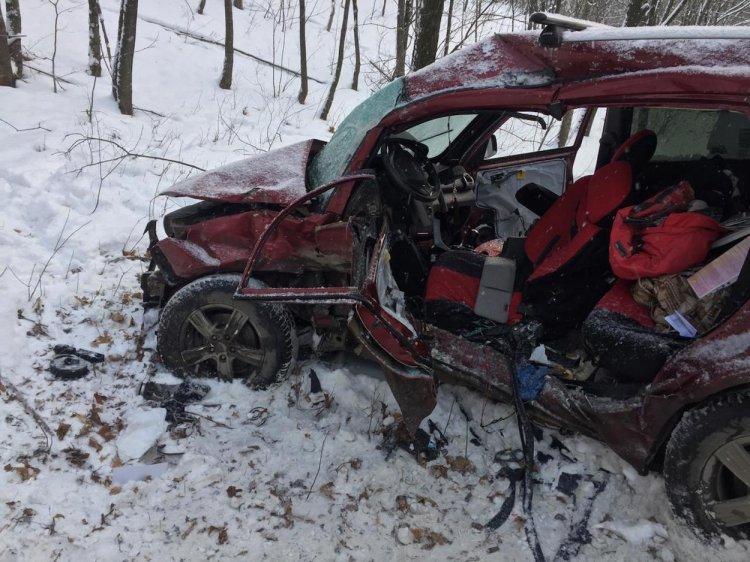 В Уфе произошло ДТП с участием пассажирского автобуса, есть пострадавшие