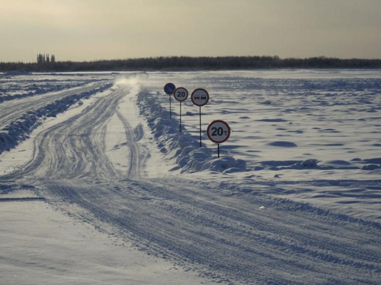Открыта первая ледовая переправа в Караидельском районе Республики Башкортостан