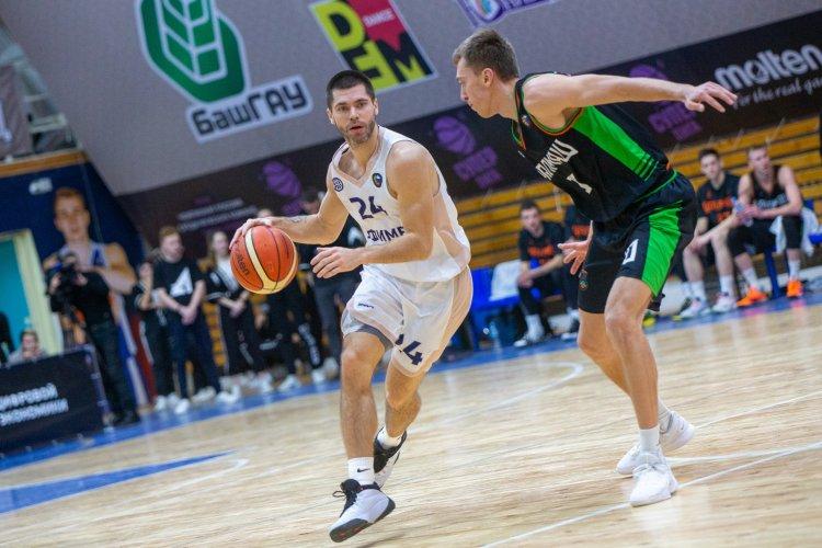 Баскетболисты «Уфимца» открыли домашний тур матчем с «Уралмашем»
