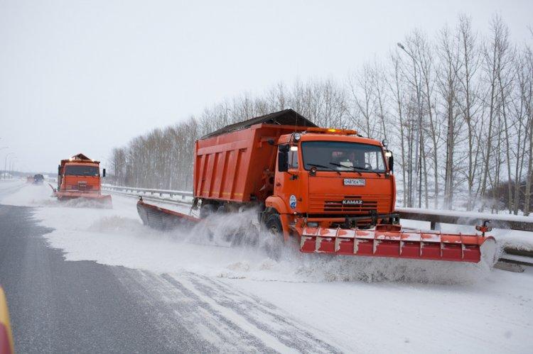 Федеральные дорожники ликвидировали последствия непогоды на федеральных автодорогах Башкирии