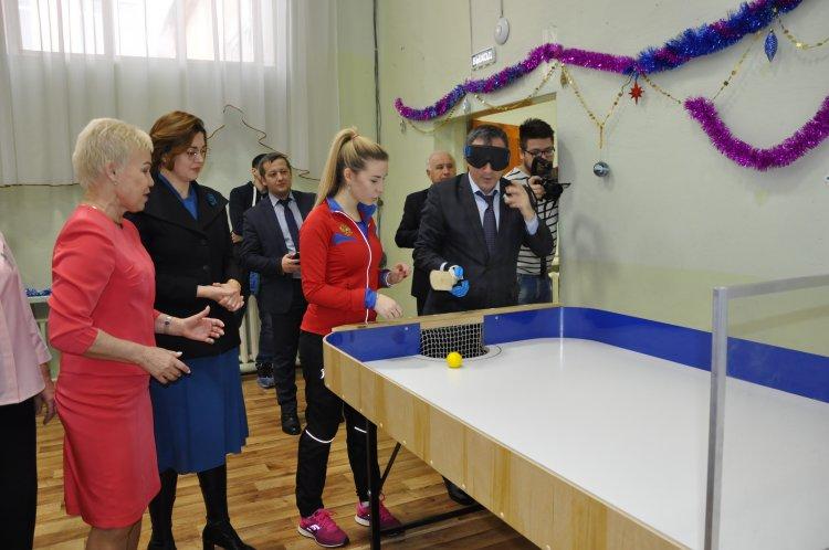 В Башкортостане стартовал проект по развитию настольного тенниса для слепых