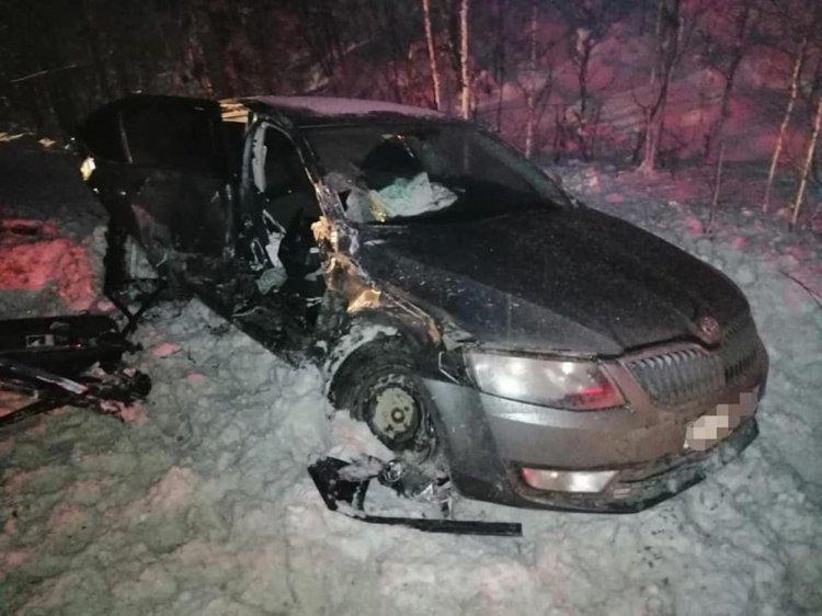 В Башкирии при столкновении двух автомобилей погибла пассажирка