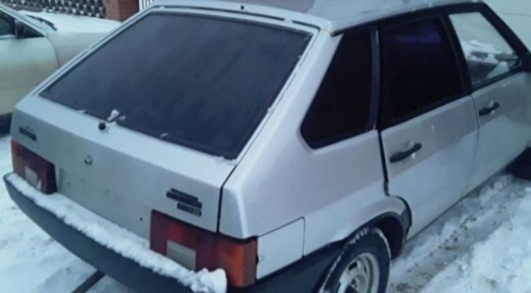 В Стерлитамакском районе нашли автомобиль, на котором насмерть сбили пешехода