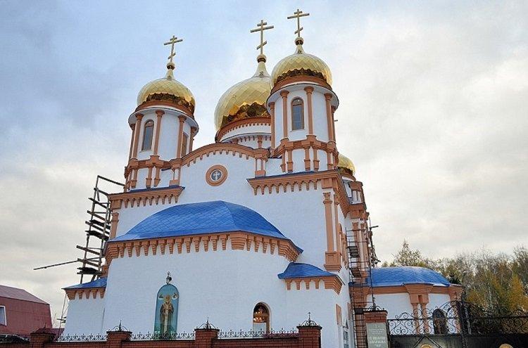 Православные верующие празднуют Крещение Господне 2020