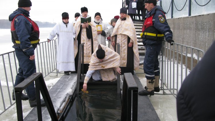 Как православные Башкирии отметили Крещение Господне в Уфе