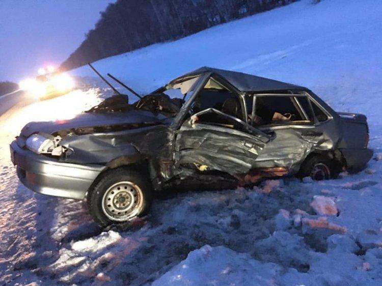 Женщина-водитель погибла в ДТП на трассе в Башкирии