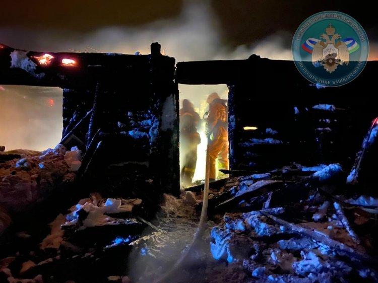 Страшный пожар в Башкирии: погибли двое взрослых и трехлетний ребенок