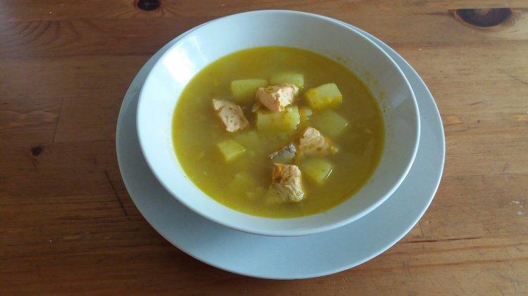 Рыбный суп из лосося: пошаговый рецепт очень вкусного блюда