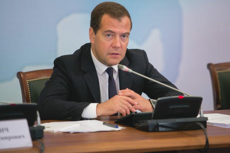 Назван размер зарплаты Дмитрия Медведева в Совбезе