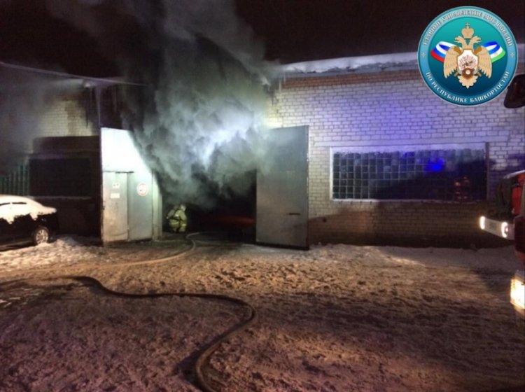 В Стерлитамаке на станции скорой помощи произошел пожар
