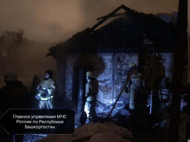 В Башкирии при пожаре погиб ребенок