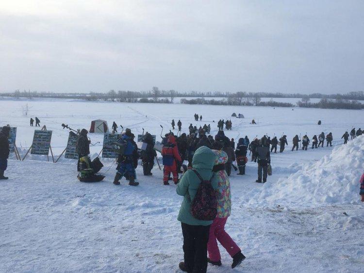 В Стерлитамакском районе прошел фестиваль по зимней ловле рыбы «Ледниковый период - 2020»