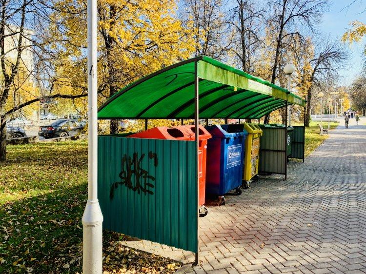 В Башкирии рассматривают варианты контейнерных площадок для раздельного сбора твердых коммунальных отходов