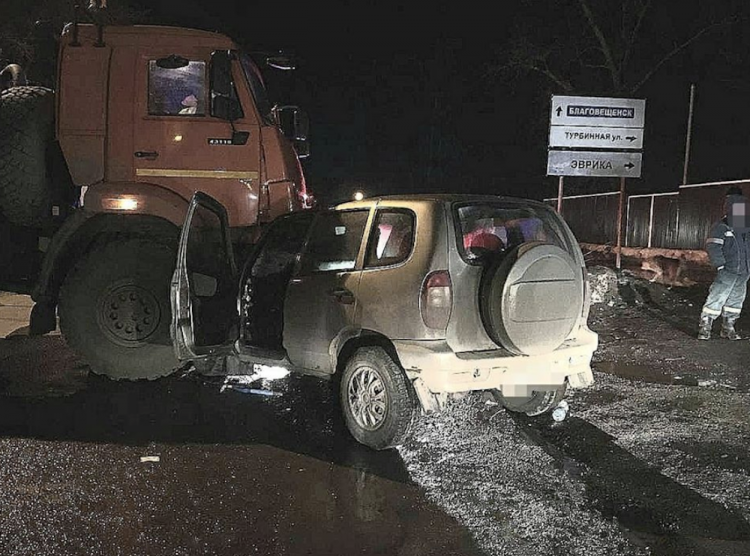 В Уфе пьяный водитель попал в ДТП с двумя маленькими сыновьями
