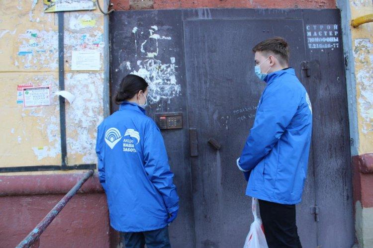 За прошедшие сутки 30 жителей Башкортостана попросили помощи волонтеров