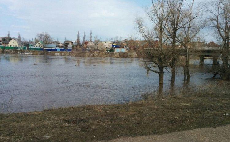 В Башкортостане наблюдается подъем уровня воды на реках