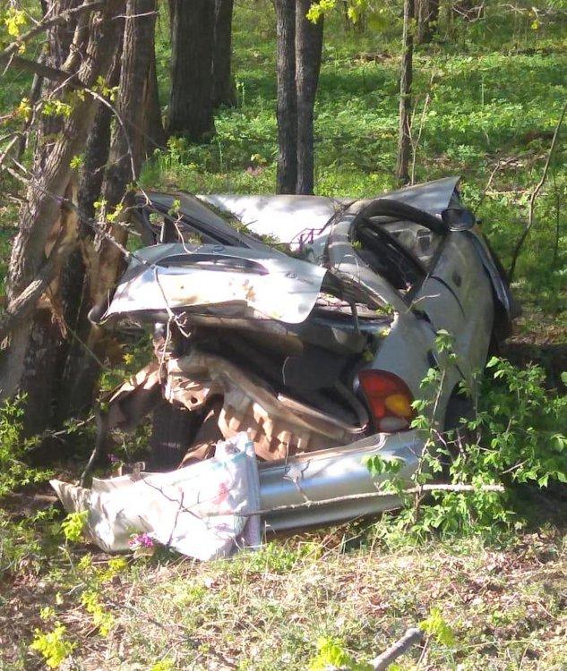 В Башкирии опрокинулся автомобиль: есть жертва
