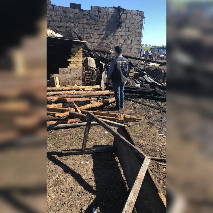 В Башкирии возбуждено уголовное дело по факту пожара, в котором погибло 6 человек