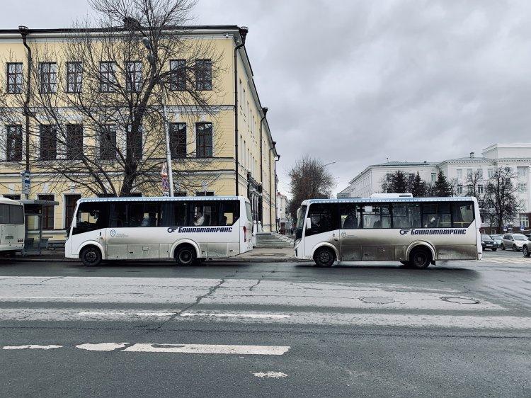 Изменен график работы общественного транспорта Уфы