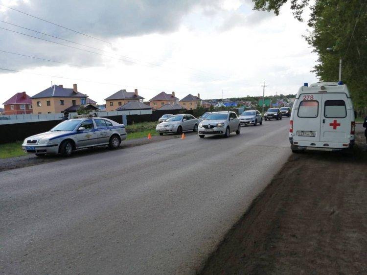 В Уфе автоледи сбила 10-летнюю девочку на велосипеде