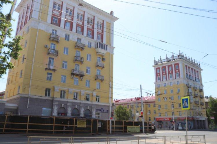 В Уфе приступили к реставрации восьмиэтажек