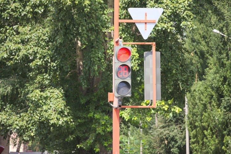 В Стерлитамаке идёт установка светофоров