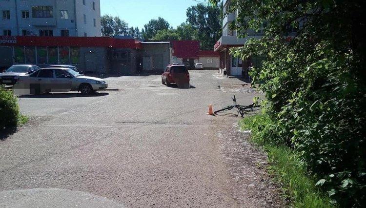 В Башкирии молодая велосипедистка угодила под колеса «Лады Приоры»