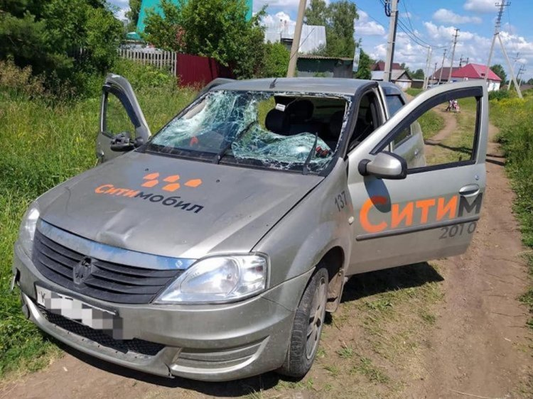 В Башкирии в отношении пьяного водителя такси, задавившего детей, возбуждено дело
