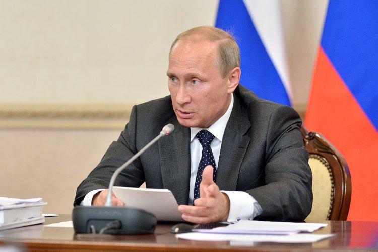 Путин выступит с очередным обращением к россиянам