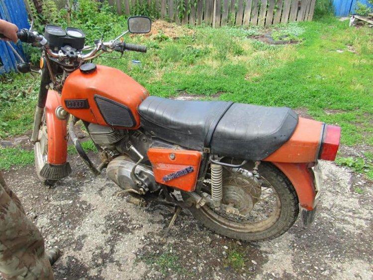 Школьник на мотоцикле попал в аварию в Башкирии
