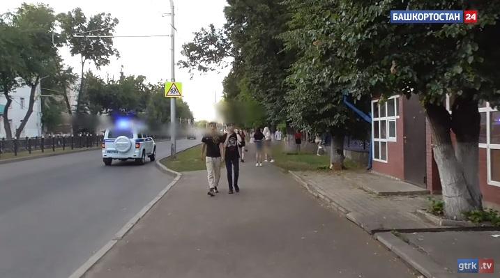 В Стерлитамаке полицейские разогнали вечеринку из сотни подростков