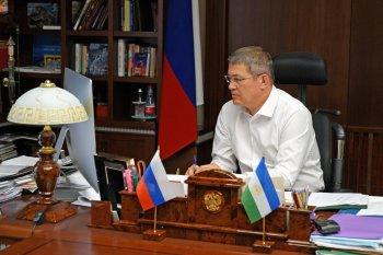 Хабиров поблагодарил Путина за вмешательство в ситуацию с БСК